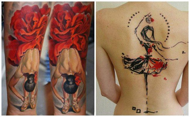 Tatuajes de bailarinas árabes