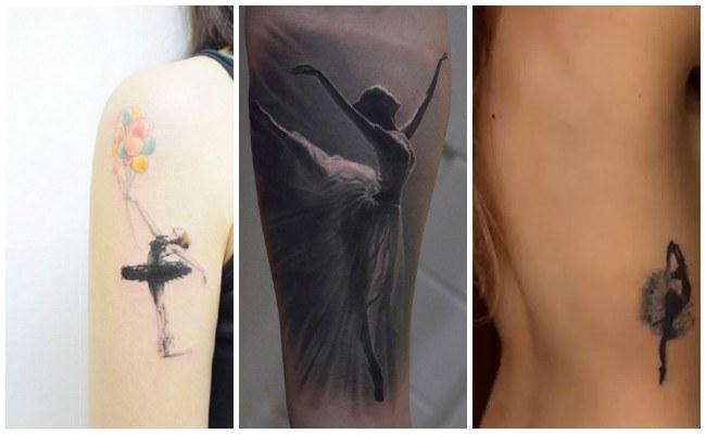 Tatuajes de bailarinas clásicas