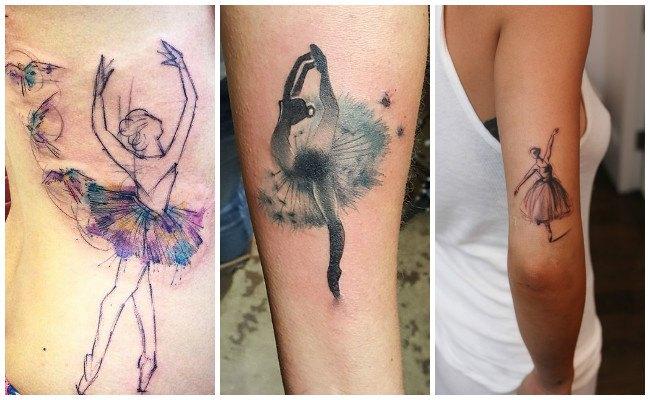 Tatuajes de bailarinas flamencas