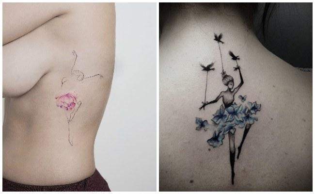 Tatuajes de bailarinas de flamenco