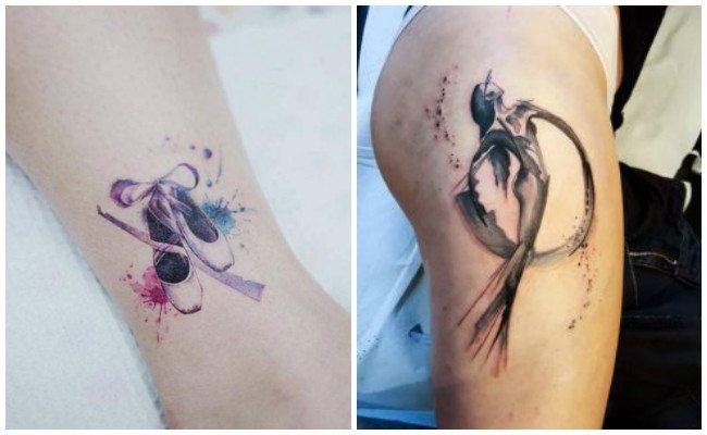 Tatuajes de bailarinas del folklore