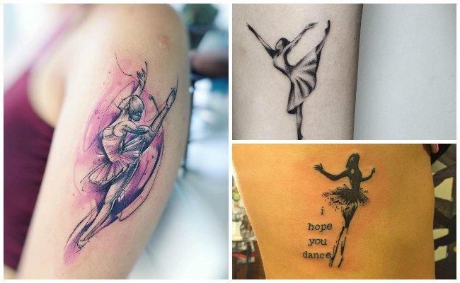 Tatuajes de bailarinas de salsa