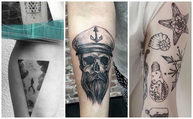 Tatuajes de barcos pequeños