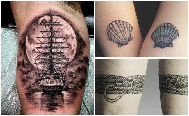 Tatuajes de barcos pesqueros