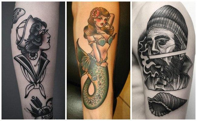 Tatuajes de barcos de vela