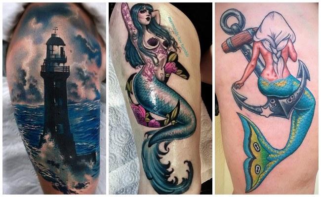 Tatuajes de barcos veleros