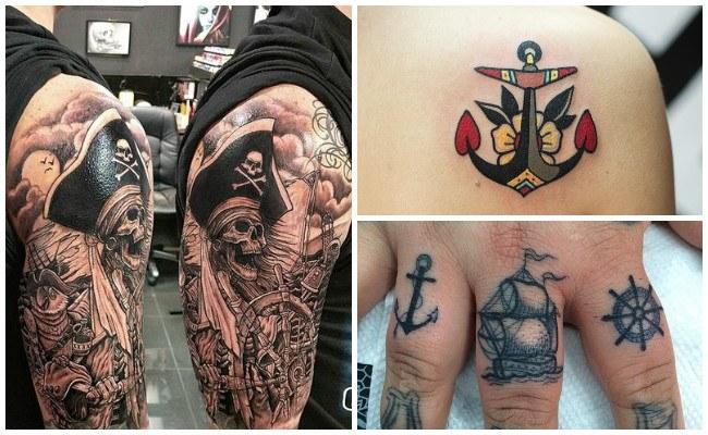 Tatuajes de barcos vikingos