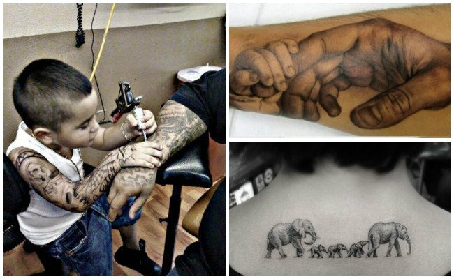 Tatuajes de bebés