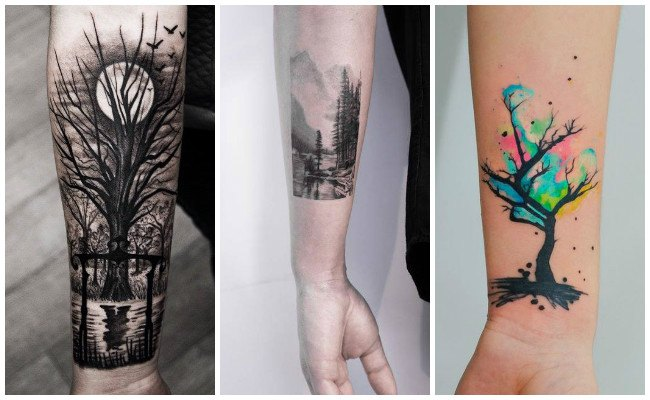 Tatuajes de bosques secos