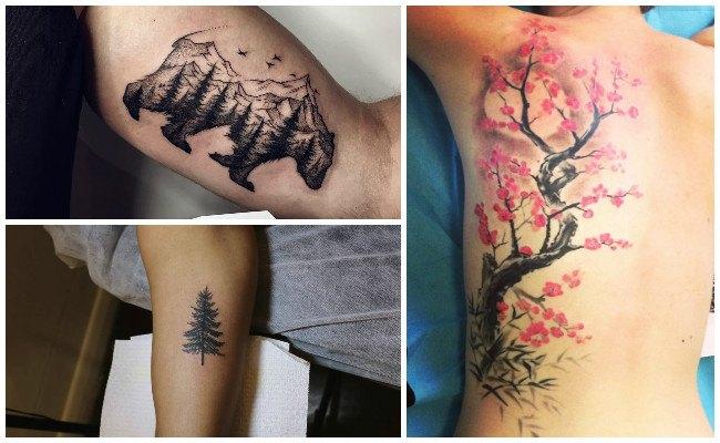 Tatuajes de bosques y su significado