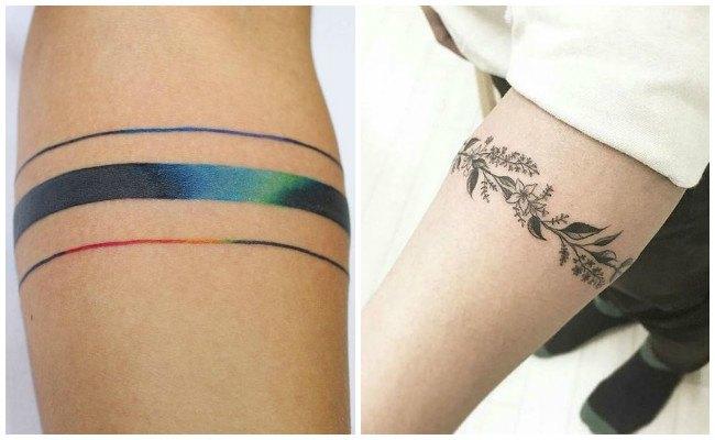 Tatuajes de brazaletes celtas