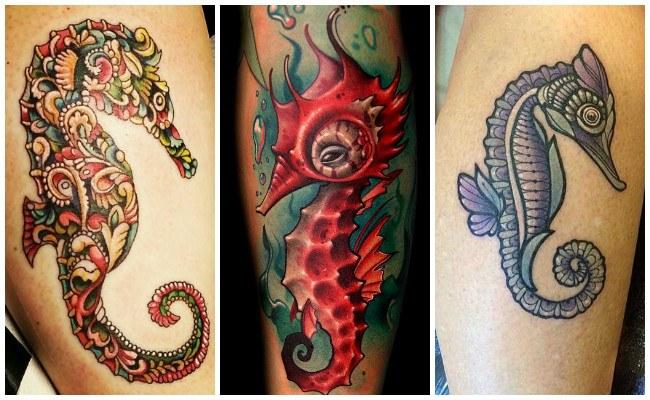 Tatuajes de caballitos de mar y su significado