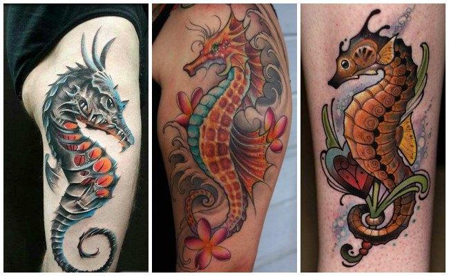 Tatuajes de caballitos de mar