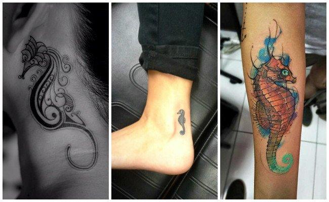 Tatuajes de caballitos del mar
