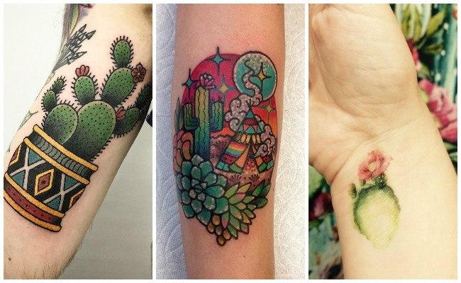 Tatuajes de cactus y su significado