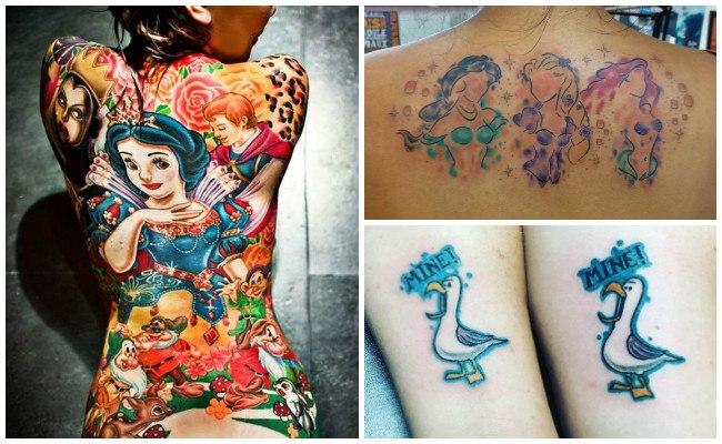 Tatuajes de campanilla de disney