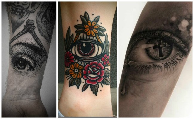 Tatuajes de cejas y ojos