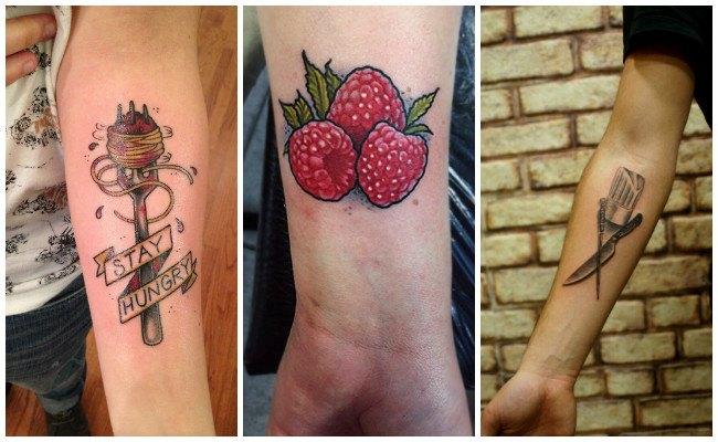 Tatuajes de chef en el antebrazo