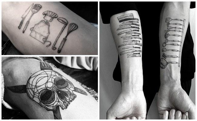 Tatuajes de chef y diseños