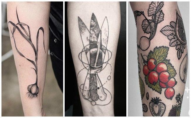 Tatuajes de chef