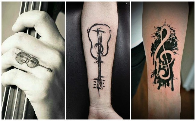 Tatuajes de clave de sol