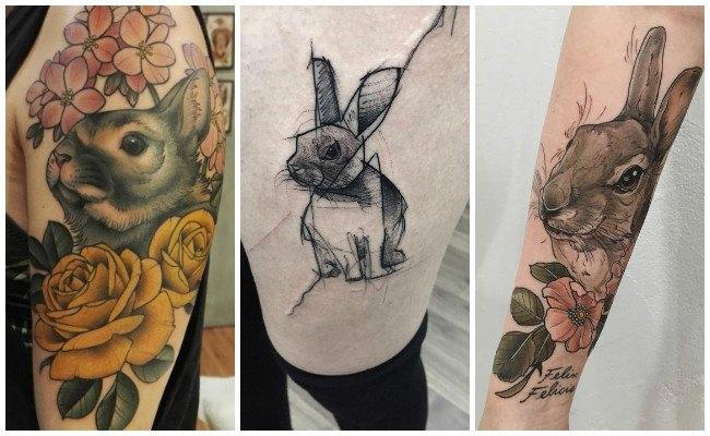 Tatuajes de conejos malos