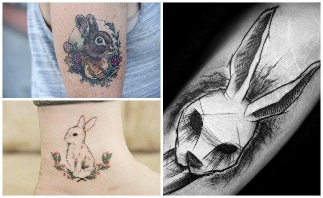 Tatuajes de conejos malvados