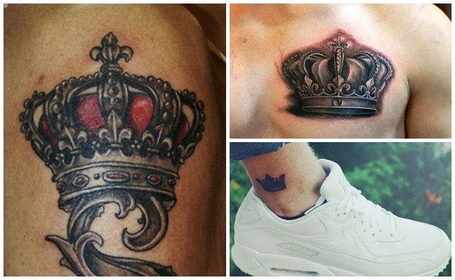 Tatuajes de coronas de espinas