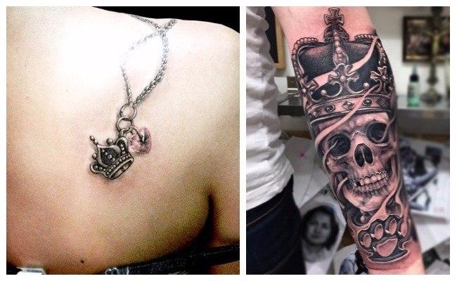 Tatuajes de coronas imágenes