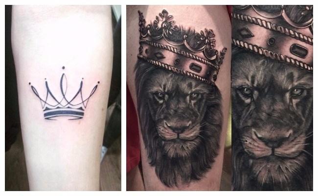 Tatuajes de coronas en parejas