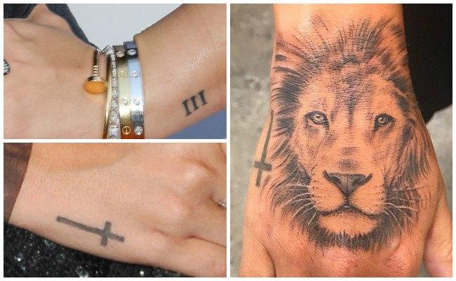 Tatuajes de demi lovato en la mano