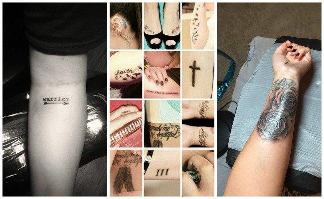 Tatuajes de demi lovato nuevos