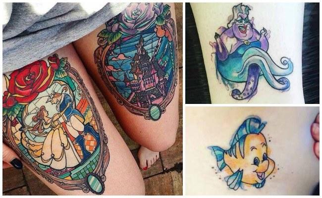 Tatuajes de disney con frases