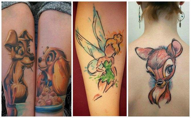 Tatuajes de disney para hombre