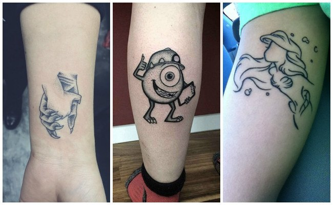 Tatuajes de disney junior