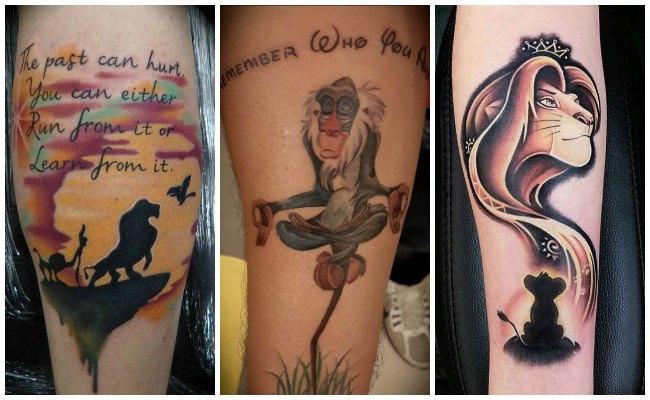 Tatuajes de disney en la muñeca