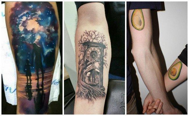 Tatuajes de familia unida