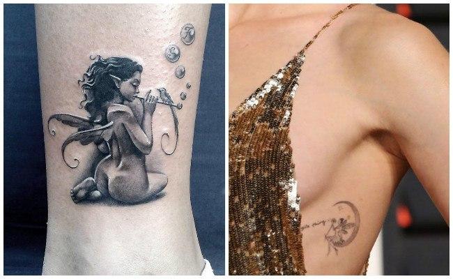 Tatuajes de hadas bebés