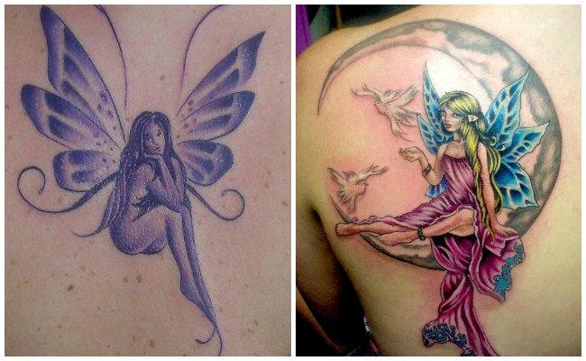 Tatuajes de hadas en el brazo