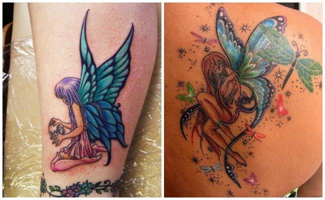 Tatuajes de hadas en la muñeca