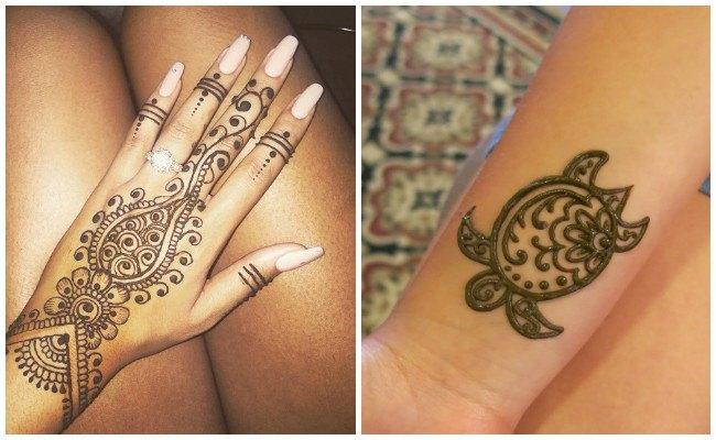 Tatuajes de henna cómo se hacen