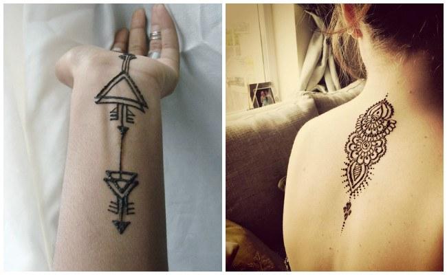 Plantillas para hacer tatuajes de henna