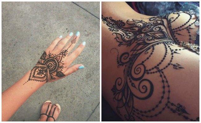 Tatuajes de henna precio