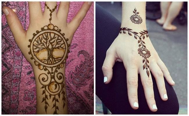 Tatuajes de henna sencillos