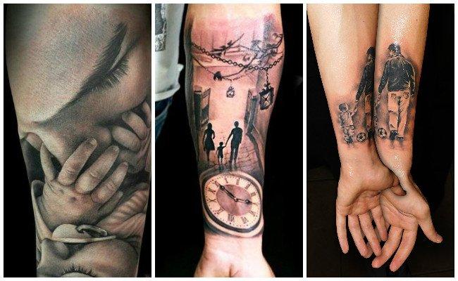 Tatuajes de hijos y sus diseños