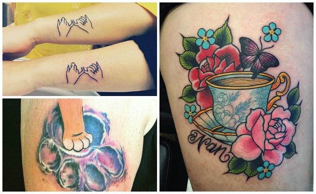 Tatuajes de hijos para hombres