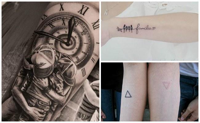 Tatuajes de hijos para padres