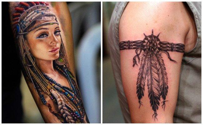 Tatuajes de indios argentinos