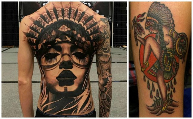 Tatuajes de indios caciques