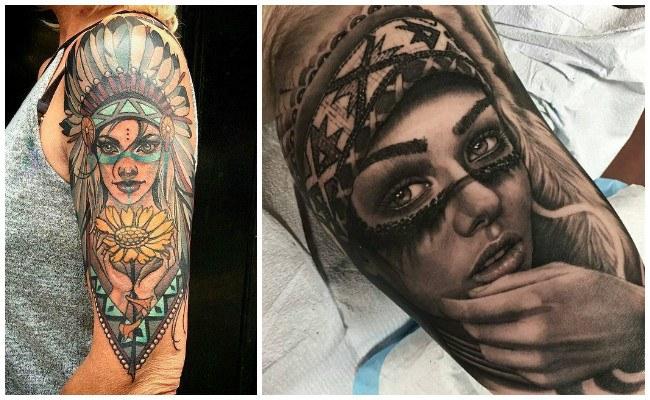Tatuajes de indios mexicanos